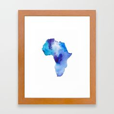 Buy Intense Africa Framed Art Print by susanbrand. Worldwide shipping available at Society6.com. Just one of millions of high quality products available.