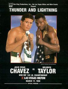Julio Cesar Chavez vs Meldrick Taylor