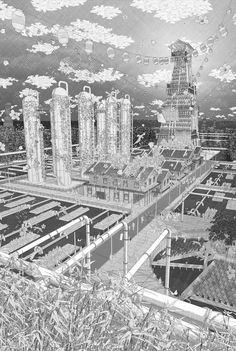 El legado de la planta de fracking de Bloomfield. Imagen © Jason Lamb.