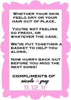 I Saw This Years Ago So Glad To Find It Again Wedding Bathroom Basket