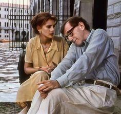 """Julia Roberts y Woody Allen en """"Todos dicen I love You"""", 1996"""