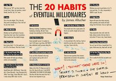 The 20 Habits of Eventual Millionaires – The Mission – Medium
