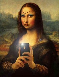 Why The Mona Lisa Is So Special & Famous. The Mona Lisa was painted by Leonardo da Vinci, the artist who made a portion of the Renaissance's most famous artworks. In contrast to the numerous artworks of that time, the Mona Lisa wasn't painted on canvas. Crazy Funny Pictures, Funny Profile Pictures, Funny Reaction Pictures, Mona Lisa Facts, Mona Lisa Parody, Mona Lisa Drawing, Famous Art Pieces, Mona Lisa Smile, Art Jokes