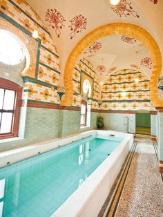 Plunge Pool  Harrogate Turkish Baths and Health Spa