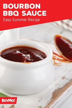 BevMo! is here to give you inspiration on your signature sauce for any entree this summer. This recipe for Bourbon BBQ Sauce has hints of spice, seasoning, and of course—booze! What dishes will you feature this delicious concoction on?