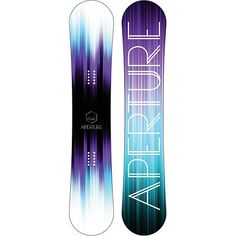 Purple and blue snowboard :)
