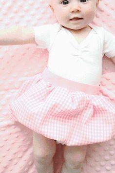 DIY Tutorial: DIY Kids Fashion / DIY Baby Bubble Skirt - Bead