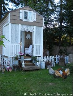 Living a Fairytale Life In A Sweet Cottage Home some cute ideas for decorating a tiny home--the whole cottage is really nice.
