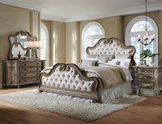 Arabella 6/6-6/0 Uph Headboard (Arabella BR Beds) | Pulaski Furniture | Home Meridian