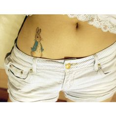 Peter Rabbit tattoo! Omg I need this! Childhood right there <3