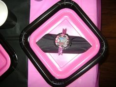 Monster High napkin seal