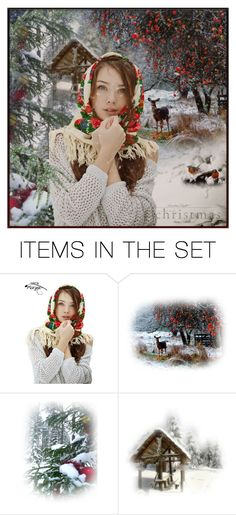 """""""❄ Delightful Christmas For Poly ❄"""" by lastchance ❤ liked on Polyvore featuring art, lastchance i MerryChristmas"""