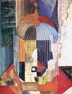 """Raoul Dufy. """"Birdcage"""" 1914"""