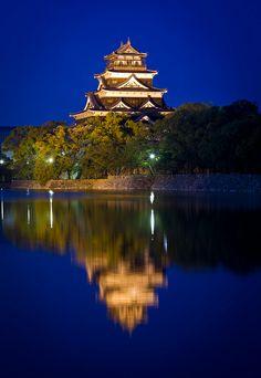 Hiroshima Castle, Japan #広島