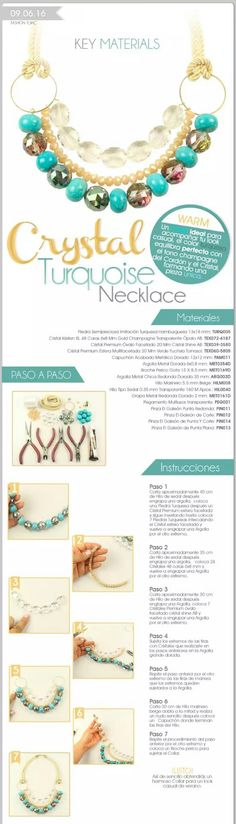 Great idea for attaching the cord to a bib- style necklace