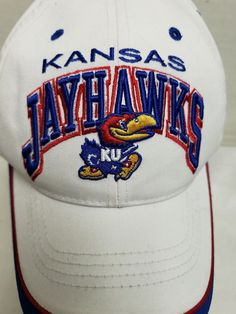 ed2d23abb36 Kansas Universiity KU Jayhawks Hat Top of the World Adj University of  Kansas  TopoftheWorld