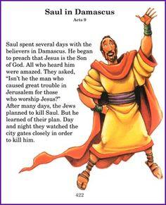 A Bright Light (Saul becomes Paul Story) - Kids Korner - BibleWise ...