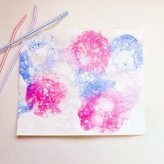 Bubble Paint Project