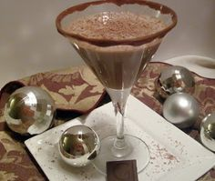 The Ultimate Chocolate Martini ~ I love this with Godiva's Chocolate liqueur.  This is a sweet blog by the Hungry Couple with the subtitle, we love each other and love food! RICH
