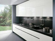 Lacquered kitchen ELEKTRA   Lacquered kitchen - ERNESTOMEDA