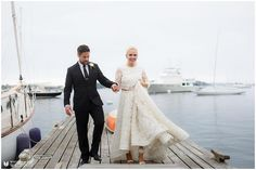 These two beautiful people are on the blog!  Anna and Terry are so real so full of life love and hold family in high regard -- and their wedding was all that and more!  #annamarryterry . >>> LINK IN BIO >>> . http://bit.ly/docksidewedding  Fabulous team to work with! Venue: @dockside_grill // Planner Designer Florist: @celia.bedilia.designs // Videoographer: @medianortheast // Officiant: Father Dos family // Ceremony Musician: Jared McCarthy friend // Reception Band: Hip Pocket Orchestra…