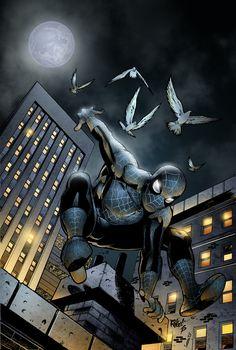 #Spiderman #Fan (#Art. (Dark Spiderman) By: SeanE. (THE * 5 * STÅR * ÅWARD * OF: * AW YEAH, IT'S MAJOR ÅWESOMENESS!!!™)[THANK Ü 4 PINNING!!!<·><]<©>ÅÅÅ+