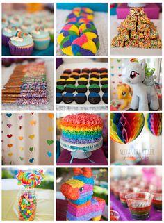Rainbow Dash My Little Pony Birthday Party