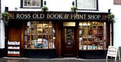 Ross Old Book Shop, Ross on Wye.