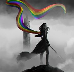 I really want this on a t-shirt - Lexa from The 100 Lexa The 100, The 100 Clexa, Lesbian Art, Lesbian Love, Maquillage Harry Potter, The 100 Serie, The 100 Characters, Commander Lexa, Clarke And Lexa