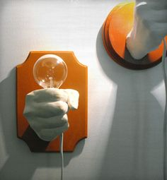 Home > Lamp: Mountable Fist Lamp = Fist BM - Mounting Holes - Lightbulb/Chord Cutout