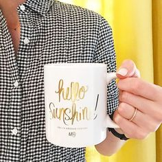 When it's too early for wine... the next best thing will do! ☕️☀️
