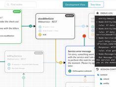 Bot Builder Tool To Design Develop and Deploy AI Chatbots Information Visualization, Data Visualization, Web Design Trends, Ui Design, Visual Programming Language, Workflow Design, Portal Design, Graphic Design Resume, Newspaper Design