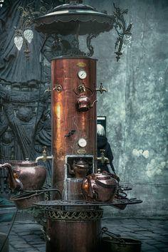 imagine this... - Steamer boiler—Montmartre, Paris, France 2014