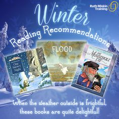 Winter reading recommendations - when the weather outside is frightful, these books are quite delightful!