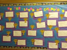 This lesson plan includes a template for the goal setting pyramid, lined page for  writing, and a worksheet for students to describe three steps they will take to reach their goal. Ms. Cappuccino's class completed the worksheet with their three steps for how to reach their goals and then posted them in their classroom.