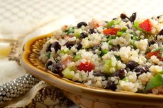 Black Bean and Tomato Quinoa Salad - Vigo Importing
