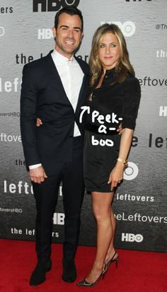 Jennifer Aniston and Justin Theroux put their love on display at the NYC premiere of The Leftovers!