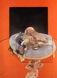 Francis Bacon, Studies of The Human Body. Part of a Tryptich