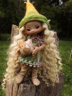 dressed bjd sunkissed lulurose with ooak by throughthemagicdoor