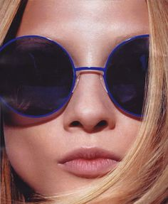 Round sunnies! Why not. UV protection works in any shape. www.dcmf.ca
