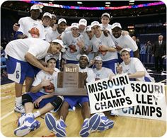 Creighton Bluejays win MVC and are going to the big dance...