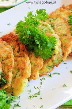 ♥ Witaj w moim kulinarnym świecie ♥: Placuszki z cukinii Ewy Wachowicz