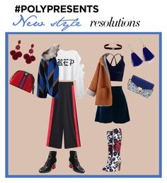 """""""New style #PolyPresents: New Year's Resolutions"""" by mullemullr on Polyvore featuring Mellow World, Oscar de la Renta, MANGO, Ella Singh, Miss Selfridge, Dries Van Noten, Dolce&Gabbana, Gucci, contestentry and polyPresents"""