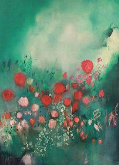 "Saatchi Art Artist Georgina Vinsun; Painting, ""Orovida - SOLD"" #art"
