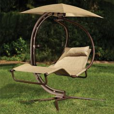Pendulum Lounger..more for the outside. Definite upgrade from the porch swing from 224 Nelson.