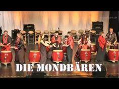 """▶ Taiko-Gruppe Mondbären bei der großen LIVE-Show """"Land der Könner"""" - YouTube"""