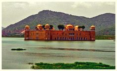 """Must visit place: Jal Mahal, Jaipur Jal Mahal (""""Water Palace"""") is a palace located in the middle of the Man Sagar Lake in Jaipur city."""