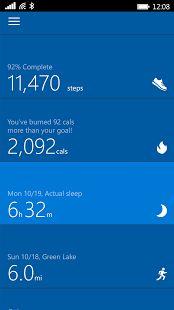Microsoft Health - 螢幕擷取畫面縮圖