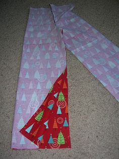 PJ Pants- just use a pair of old PJ pants as a pattern! Also tells how to figure out how much fabric you will need.