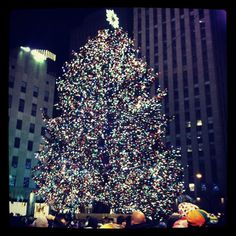 Christmas in the city <3
